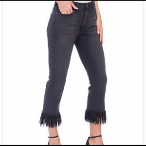Denim - For the Republic Denim frayed jeans ❤️